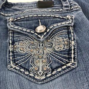 Grace in LA Jeans - VGUC Grace in LA Midrise Straight Jeans Size 29
